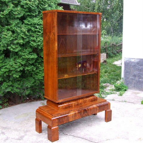Art deco bookcase.