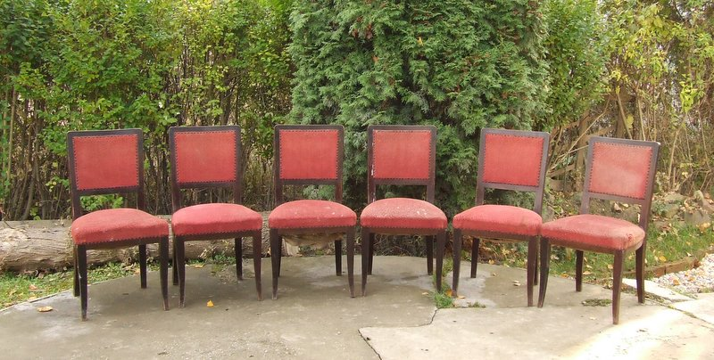 Art Deco Dining Chairs. Click Here for more pictures, more information and price.