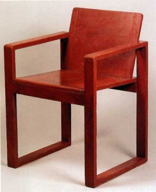 Cubism style chair.